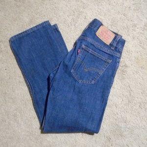 LEVI'S NEW Girls 505 Straight Leg Jeans